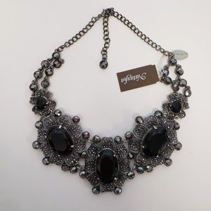 Natasha statement Necklace, lead free, NWOT.